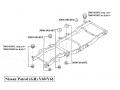 Karosserie-Gummilager 6 Y60/61